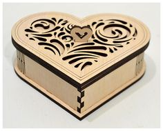 "Thank you for visiting our store. For sale is laser cut vector model. Wedding USB case Digital product includes --- AI, EPS, CDR, SVG, DFX --- files. ---DESIGNS--- Vector pattern have a unique design. ---SET of 2 PATTERNS --- patterns create of plywood - 3,2 mm (1/8"") patterns create Wooden Pencil Box, Pencil Boxes, Living Hinge, Usb Box, Wood Burning Tool, Small Cafe Design, Laser Cutter Projects, Laser Art, Concrete Lamp"
