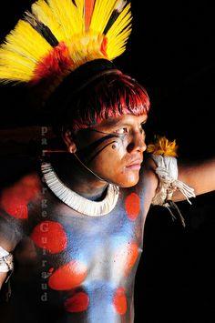 * Yawalapiti brave _ Xingu _ Brazil *