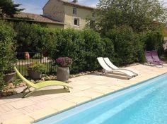 Gite en Drôme provençale, avec piscine, climatisé dans une belle ferme traditionnelle rénovée, à Saint Paul Trois Châteaux