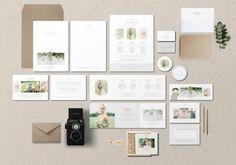 Modern Photographer Marketing Set by Bittersweetdesignboutique on @creativemarket