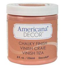DecoArt Americana Decor 8-oz. Smitten Chalky Finish-ADC08-45 - The Home Depot