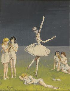 René Magritte : Ballerine masculine