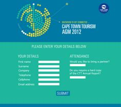 will manage all your conference needs! Cape Town Tourism, Conference