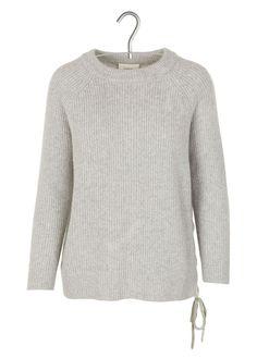 Pull grosse maille en laine et cachemire by BA & SH
