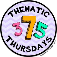 Thematic Thursdays: Numbers  numbers Thematic Thursdays