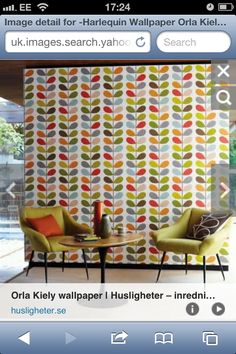 Soon to be my kitchen wallpaper - decided I'm going to be brave