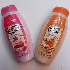 Afrodita Cream Shower Gel ~ Raspberry Cream & Orange Cream
