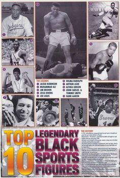 MARK SPITZ Ali++ GREAT MOMENTS OF OLYMPIC HISTORY 1896-1996 Poster JESSE OWENS