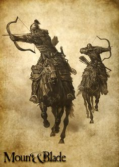 Image result for mount and blade khergit horse art