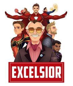 Thank you stan lee for being an inspiration to us all. Not only the arts community but everyone who is entertained by your amazing… Marvel Avengers, Marvel Dc Comics, Captain Marvel, Marvel Characters, Marvel Movies, Mundo Comic, Art Graphique, Community Art, Marvel Cinematic Universe