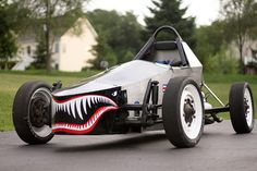 In 2010 I acquired a Formula Vee project car which immediately became a ground up rebuild. Ignoring the fact that i'm the wrong size for the class I built a cage and car around me. I ditche… Old Race Cars, Pedal Cars, Motorized Big Wheel, Diy Electric Car, Honda Scrambler, Diy Go Kart, Welding Helmet, Kit Cars, Custom Cars