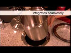 BLANCO SOLON: Stainless Steel Compost Bin