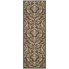 Perfect for any backyard, patio, deck or along the pool, this rug is great for outdoor use as well as any indoor use that requires an easy to maintain rug.