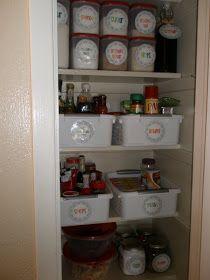 elementary organization: pantry heaven.