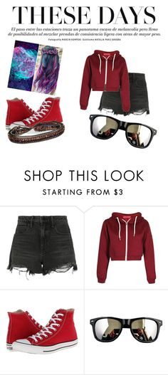 """""""These days"""" by delurabowers ❤ liked on Polyvore featuring Alexander Wang, Converse and NAKAMOL"""