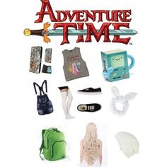 Adventure time by aaandossantos1 on Polyvore featuring kunst