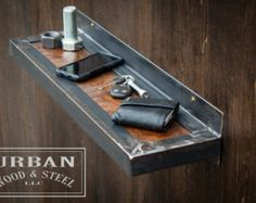 Custom Steampunk Salon/ Barber Station by urbanwoodandsteel