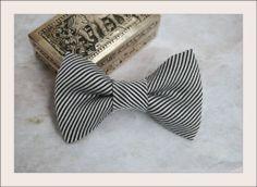 Classy Style Toddler Boys Black Striped Baby Boy Clip on Bow Tie 2T 3T 4T | eBay