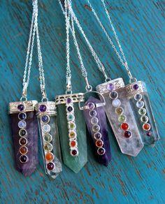 Chakra Necklace - Crystal Quartz - Ever Designs Jewelry
