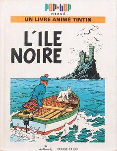 Couverture de Tintin (Pop-Hop) -3- L'île noire