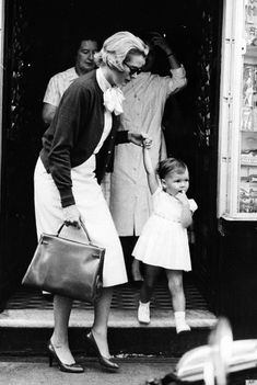 grace kelly with her baby - Google Search