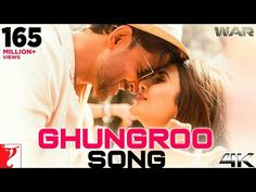 The 'Ghungroo' is the latest song from bollywood hindi 'War' Movie. This song sung by a Arijit Singh and Shilpa Rao. Lyrics are written by Kumaar. Bollywood Songs, Bollywood News, Mp3 Song, Song Lyrics, Hrithik Roshan Hairstyle, Aditya Chopra, Yash Raj Films, Entertainer Of The Year, Tiger Shroff