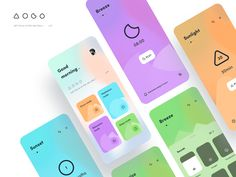 Meditation 🦄 by Dragon Lee Ui Ux Design, Design Agency, Graphic Design, New Mobile, Mobile Ui, Meditation Apps, Clear Card, Mobile Design, Show And Tell