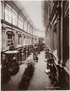 The Royal Arcade, Sydney, ran from George Street near the markets, through to Pitt Street, near the School of Arts. Over 90 metres long, it was well lit, with a lofty celestory and gas lamps. There were 31 shops on the ground floor, 36 offices on the first floor and a photographic studio above them at the George Street end. Of Sydney's five Victorian arcades, only the Strand survived twentieth century development, the Royal disappearing beneath the Hilton Hotel in the mid 1970s.