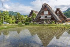 Shirakawago: Experience the Japanese Countryside Fairytale | Japan Cheapo Japanese Countryside, Shirakawa Go, Asian Architecture, When They Cry, Gifu, Urban Life, Image Photography, World Heritage Sites, Spring Time