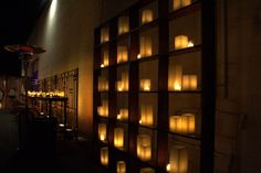 Image result for candle wall