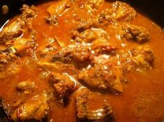 Kravings Food Adventures by Karen Ahmed: Chicken curry with yoghurt