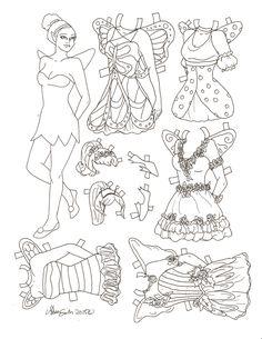 Miss Missy Paper Dolls Fairy
