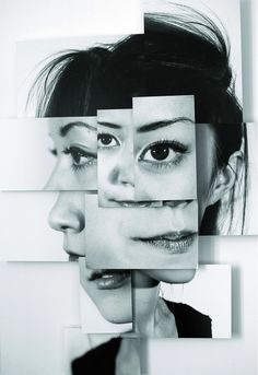 Fragments - you could take multiple photos, reassemble them and then draw/paint or use mixed media?