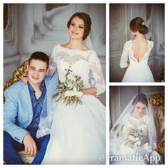 Как приятно видеть счастливых невест в платьях #DOMINISS LAVERNA #Litebydominiss