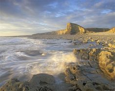 This is such an amazing photo: Coastline Nash Point in the Vale of Glamorgan, Wales