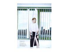 www.annefontaine.com Parution l'officiel mars 2014 #annefontaine #whiteshirt #fashion