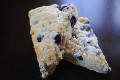 Turquoise & Teale: Blueberry Scones