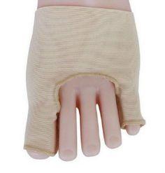 1Pair Fabric Big Little Toe Separator Straightener Bunion Protector Pain Relief(BICP046793)