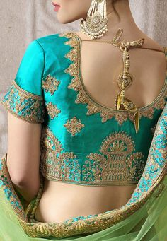 Latest neckline gala designs collection consists of new styles and patterns of cutwork, embroidered neck for churidars, anarkalis, kurtis, etc. Blouse Back Neck Designs, Neckline Designs, Blouse Designs Silk, Designer Blouse Patterns, Gala Design, Embroidery Suits, Indian Fashion, Women's Fashion, Indian Designer Wear