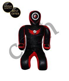 Submission Style Brazilian JiuJitsu Black-Red Fighting Grappling Dummy 6Ft #COSH