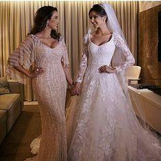 Vestidos noiva e mãe de noiva Jr Santaella