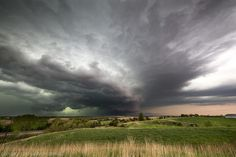 Scary clouds north of Lincoln - May 11, 2014 in Eastern Nebraska | by ryanmcginnisphoto