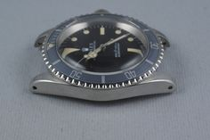 This Ghost bezel is sexy. Throw that on a nato strap and we're set. : ) (1970 Rolex Submariner 5513 with Ghost Bezel)