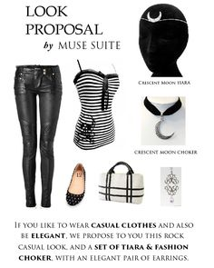 LOOK PROPOSAL by Muse Suite We have so many creations, different styles and items ready to wear in some occasions. If you prefer a casual look, but you like any alternative style to wear, we propose this a very comfortable combination! www.facebook.com/musesuite www.instagram.com/musesuite www.twitter.com/musesuite
