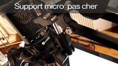 Support micro pas cher à 16€. Pour micro Prodipe, RODE, BIRD