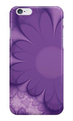 """Violet flower"" iPhone Cases & Skins by floraaplus   Redbubble. #flower #violet #spring #petal #nature #printing  #flora #colour #big #magnificent #decorative #petals #gentle #monophonic #ornament #stylish #structure #surprising"