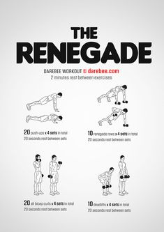 Renegade is a difficulty Level IV Darebee workout that rocks! Gym Workout Videos, Fun Workouts, At Home Workouts, Workout Routines, Workout Plans, Basketball Tricks, Basketball Workouts, Dumbbell Workout, Boxing Workout