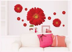 Home Decor | De parede diy pvc decals colorful mural arts wedding gifts – US $2.16