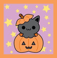 Halloween Kitty by brandimillerart on DeviantArt