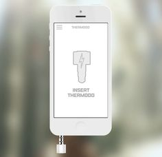 Thermodo: a very small hardware thermometer that fits in your device's headphone jack, and transmits real temperature data for use in apps.